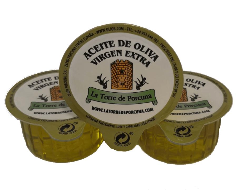 tarrinas aceite de oliva virgen extra
