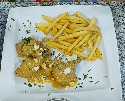 pollo pepitoria